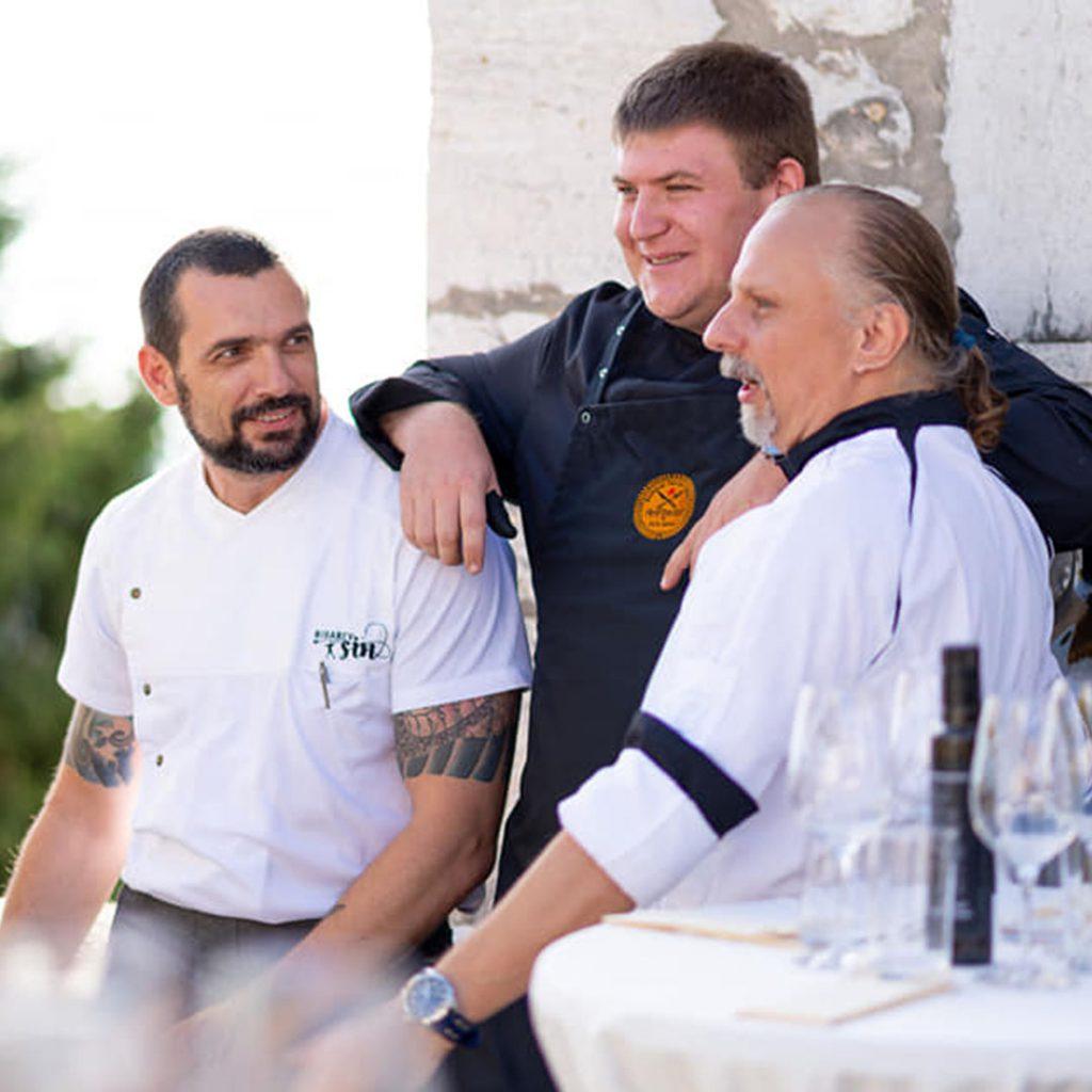 Kulinarski razvojni centar - Iva Zembo - radionice - gastro tour - workshop - local dishes - kitchen - kuhanje - tečaj - specijalist kreativne kuhinje - Amfiteatar - Deniz Zembo - Pula - Istra