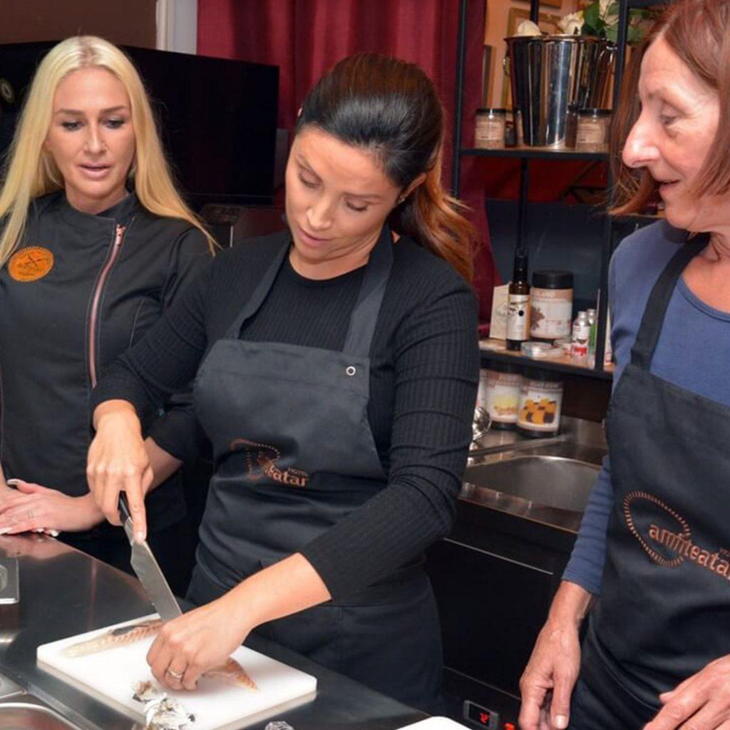 Kulinarski razvojni centar - Iva Zembo - radionice - gastro tour - workshop - local dishes - kuhanje - tečaj - specijalist kreativne kuhinje - Amfiteatar - Deniz Zembo - Pula - Istra